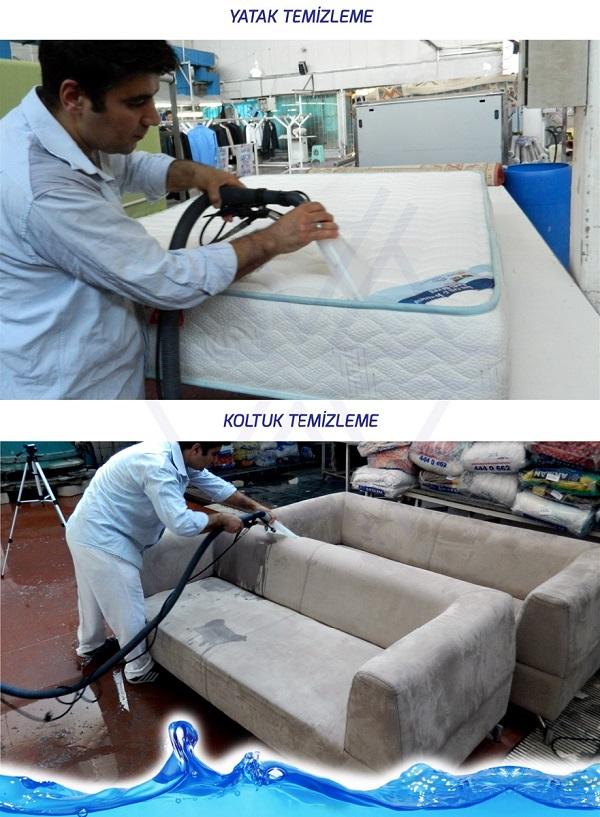 Akman koltuk yatak temizleme