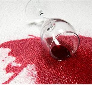 Halıdan Şarap Lekesi Nasıl Çıkar?